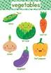 Fruit and Vegetable File Folder Game