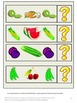 Autism: Fruit and Vegetable File Folder Games Centers and