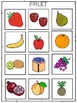 Fruit and Vegetable File Folders