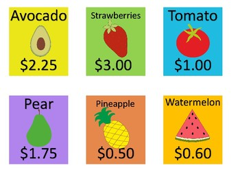 Fruit and Vegetable Money Spent and Sort
