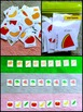 Fruit and Vegetable Patterns and Word Wall Flashcards