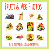 Fruit and Vegetable Photos / Photographic Clip Art for Com