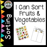 Fruit and Vegetable Sorting Activity