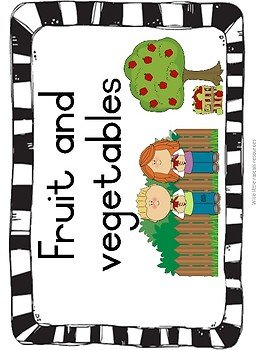 Fruit and Vegetable resource kit
