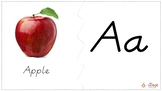 Fruit and Vegetables ABCs: Matching & Puzzle Game