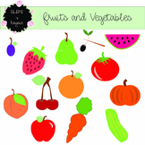 Fruit and Vegetables Clip Art