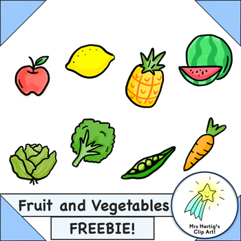 Fruit and Vegetables Freebie!