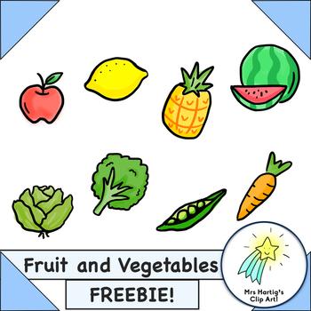 Fruit and Vegetables Freebie!