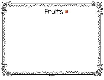 Fruit and Vegetables Sorting Using Photos