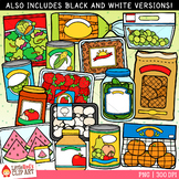 Fruit and Veggie Food Clip Art