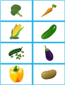 Fruit and Veggie Matching Game