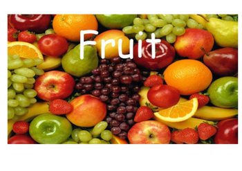 Fruit colors