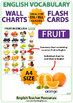 Fruit in English - Charts / Flash Cards
