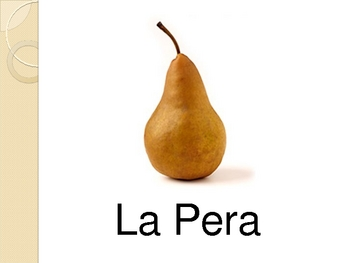 Fruit in Spanish, Vocabulary, Pictures, and Games