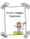 Fruit n Veggie Flashcards