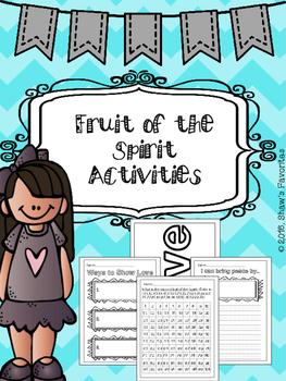 NLT Fruit of the Spirit Activities
