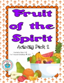 Fruit of the Spirit Activity Pack 2