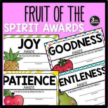 Fruit of the Spirit Awards