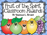 Fruit of the Spirit Awards and End of the Year Certificates