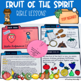 Fruit of the Spirit Bible Lesson (2nd-4th grade)