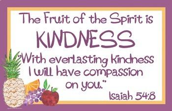 Fruit of the Spirit Bundle:  Awards, Posters, Devotions