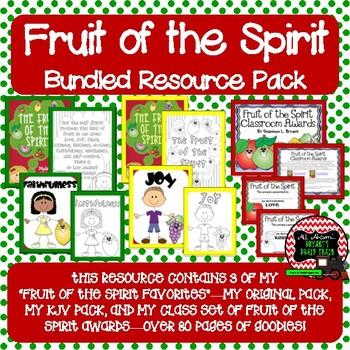 Fruit of the Spirit Bundled Resource Pack