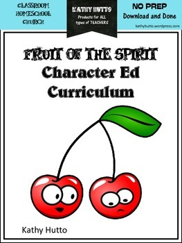 Fruit of the Spirit Character Ed Curriculum