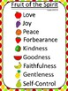 Fruit of the Spirit Classroom Chart