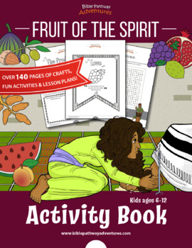 Fruit of the Spirit Coloring Activity Book & Lesson Plans