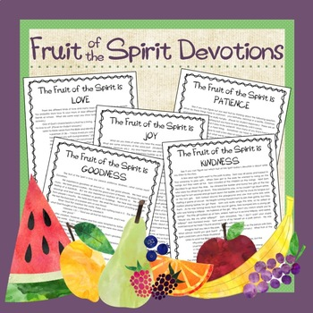 Fruit of the Spirit Devotions