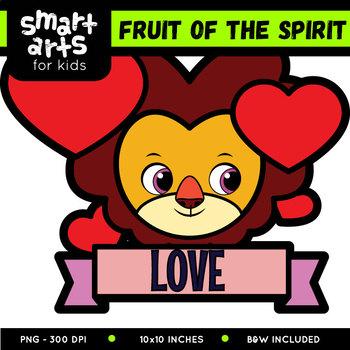 Fruit of the Spirit Clipart - Galatians 5:22-23