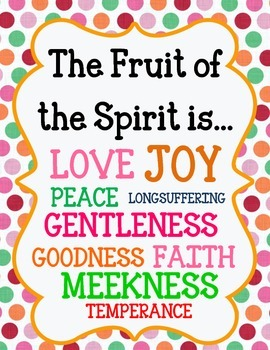 Fruit of the Spirit.  Introduction Unit.  Worksheets and Activites