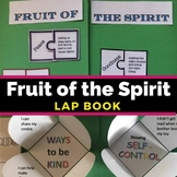 Fruit of the Spirit Lap Book | Sunday School Lesson or Bib