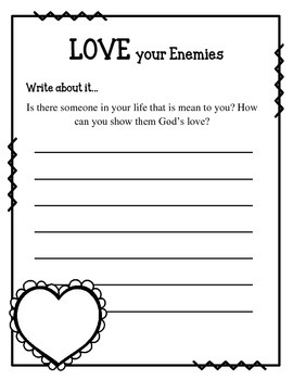 Fruit of the Spirit. Love. Unit 1. Worksheets and Activities