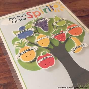 Fruit of the Spirit Memory Game