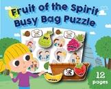 Fruit of the Spirit Puzzle Busy Bag, Preschool, Kindergart