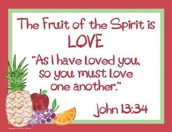 Fruit of the Spirit Sample Pack FREEBIE