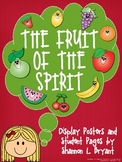 Fruit of the Spirit (Song, Posters, Writing Act., and Coloring Pgs.)