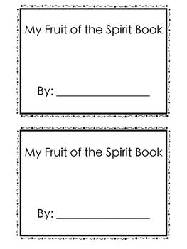 Fruit of the Spirit Unit