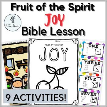 Fruit of the Spirit Unit - JOY