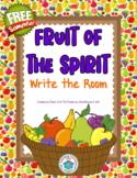 Fruit of the Spirit Write the Room {FREEbie}