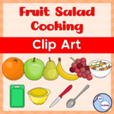 Fruit salad cooking clipart