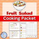 Fruit salad cooking packet