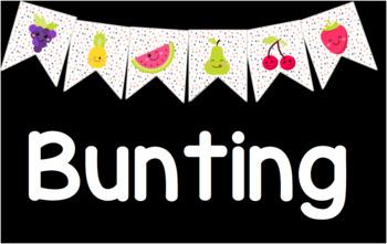 Fruitilicious Bunting
