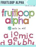 Fruitloop Alphabet - Clip Art