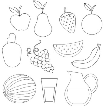 Fruits Freebie Clipart