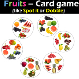 Fruits - Card game (like Spot it or Dobble)