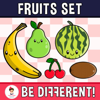 Fruits Clipart (PartyHead Sets)