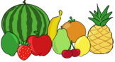 Fruits- Cliparts- Creator Kit: ADD-ON- For Personal or Com