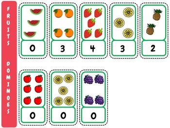 Fruits Dominoes